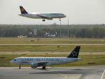 kiyohsさんが、フランクフルト国際空港で撮影したルフトハンザドイツ航空 A320-211の航空フォト(飛行機 写真・画像)