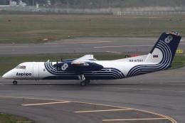 セブンさんが、新千歳空港で撮影したオーロラ DHC-8-315Q Dash 8の航空フォト(飛行機 写真・画像)