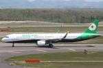 セブンさんが、新千歳空港で撮影したエバー航空 A321-211の航空フォト(飛行機 写真・画像)