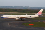 セブンさんが、新千歳空港で撮影したチャイナエアライン A330-302の航空フォト(写真)