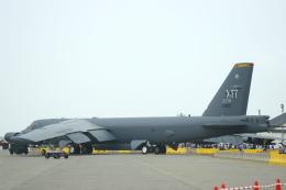 Mr.boneさんが、三沢飛行場で撮影したアメリカ空軍 B-52H-BW Stratofortressの航空フォト(飛行機 写真・画像)