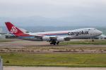 チャッピー・シミズさんが、小松空港で撮影したカーゴルクス 747-8R7F/SCDの航空フォト(写真)