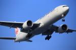 武彩航空公司(むさいえあ)さんが、羽田空港で撮影した日本航空 777-346/ERの航空フォト(写真)