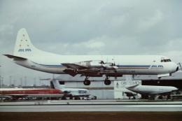 tassさんが、マイアミ国際空港で撮影したアンティリアン・エアラインズ L-188A(F) Electraの航空フォト(飛行機 写真・画像)