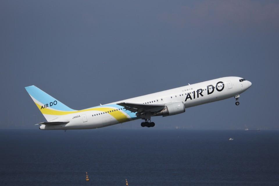 KAZFLYERさんのAIR DO Boeing 767-300 (JA601A) 航空フォト