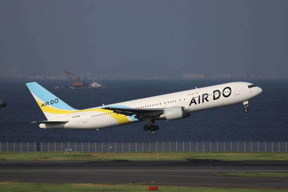 KAZFLYERさんのAIR DO Boeing 767-300 (JA01HD) 航空フォト