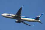 SGR RT 改さんが、関西国際空港で撮影した全日空 767-381/ERの航空フォト(写真)