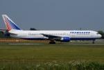tassさんが、成田国際空港で撮影したトランスアエロ航空 767-33A/ERの航空フォト(飛行機 写真・画像)