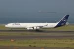 SIさんが、中部国際空港で撮影したルフトハンザドイツ航空 A340-313Xの航空フォト(飛行機 写真・画像)