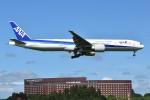 T.Kawaseさんが、成田国際空港で撮影した全日空 777-381/ERの航空フォト(写真)