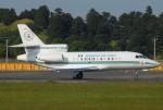tassさんが、成田国際空港で撮影したナイジェリア空軍 Falcon 900の航空フォト(写真)
