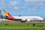 T.Kawaseさんが、成田国際空港で撮影したアシアナ航空 A380-841の航空フォト(写真)