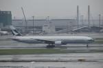 T.Kawaseさんが、羽田空港で撮影したキャセイパシフィック航空 777-367の航空フォト(写真)