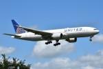 T.Kawaseさんが、成田国際空港で撮影したユナイテッド航空 777-224/ERの航空フォト(写真)