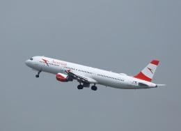 garrettさんが、パリ シャルル・ド・ゴール国際空港で撮影したオーストリア航空 A321-111の航空フォト(飛行機 写真・画像)