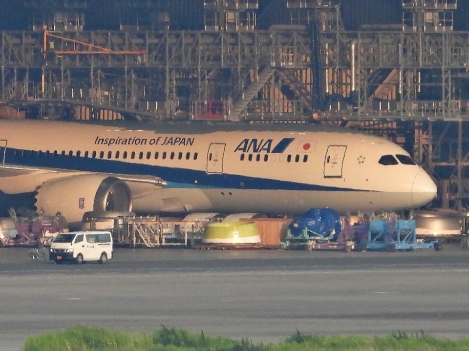 チャレンジャーさんの全日空 Boeing 787-8 Dreamliner (JA824A) 航空フォト