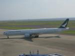くまのんさんが、中部国際空港で撮影したキャセイパシフィック航空 777-367の航空フォト(飛行機 写真・画像)