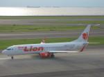 くまのんさんが、中部国際空港で撮影したタイ・ライオン・エア 737-8GPの航空フォト(写真)