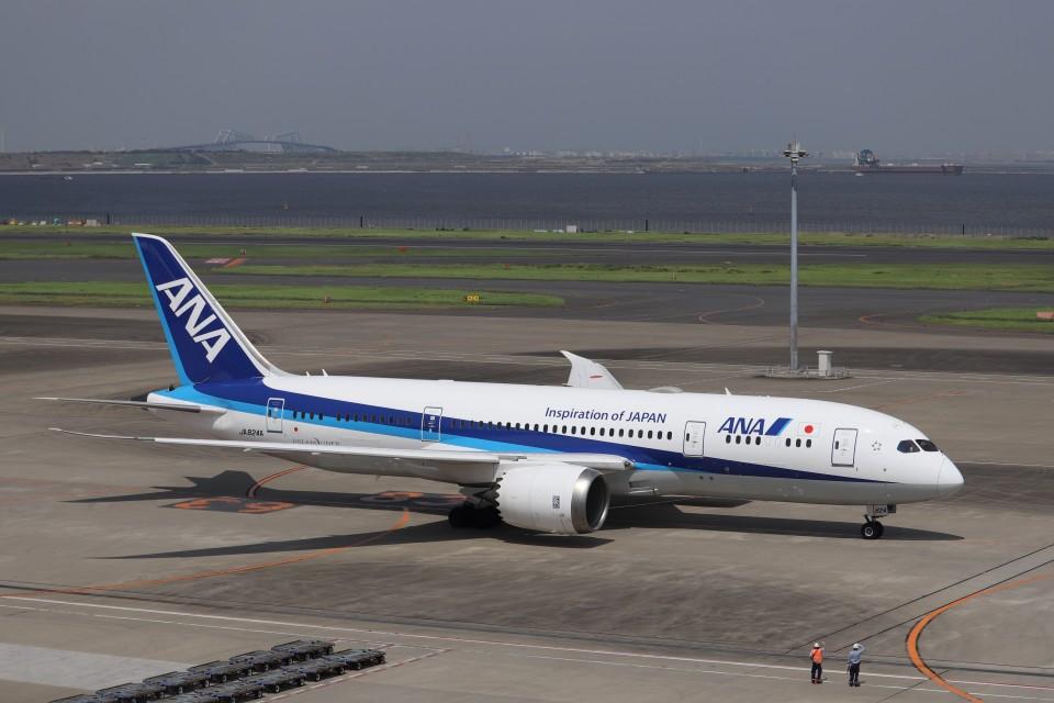 KAZFLYERさんの全日空 Boeing 787-8 Dreamliner (JA824A) 航空フォト