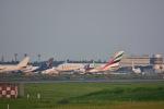 チョロ太さんが、成田国際空港で撮影したエミレーツ航空 A380-861の航空フォト(写真)