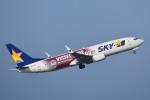 T.Kawaseさんが、羽田空港で撮影したスカイマーク 737-8ALの航空フォト(写真)