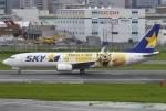 あしゅーさんが、福岡空港で撮影したスカイマーク 737-8FHの航空フォト(写真)