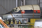 Hiro-hiroさんが、羽田空港で撮影した日本航空 DC-8-32の航空フォト(写真)