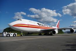 zettaishinさんが、ニューヨーク・スチュワート国際空港で撮影したカリッタ エア 747-4B5(BCF)の航空フォト(飛行機 写真・画像)