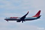 takamaruさんが、静岡空港で撮影したチェジュ航空 737-8JPの航空フォト(飛行機 写真・画像)