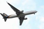 kuro2059さんが、成田国際空港で撮影したUPS航空 767-34AF/ERの航空フォト(写真)