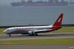 Wasawasa-isaoさんが、中部国際空港で撮影した上海航空 737-8Q8の航空フォト(写真)