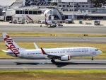 kikiさんが、シドニー国際空港で撮影したヴァージン・オーストラリア 737-8FEの航空フォト(写真)
