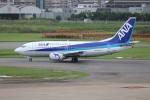 ゆう改めてさんが、福岡空港で撮影した全日空 737-54Kの航空フォト(写真)