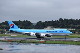 T.Sazenさんが、成田国際空港で撮影した大韓航空 747-8HTFの航空フォト(写真)