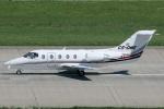 Hariboさんが、チューリッヒ空港で撮影したNetJets Europe Hawker 400XPの航空フォト(写真)