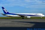れんしさんが、山口宇部空港で撮影した全日空 767-381/ERの航空フォト(写真)