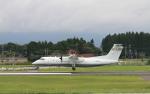 EosR2さんが、鹿児島空港で撮影した国土交通省 航空局 DHC-8-315Q Dash 8の航空フォト(写真)
