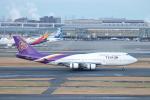 Shin-chaさんが、羽田空港で撮影したタイ国際航空 747-4D7の航空フォト(写真)