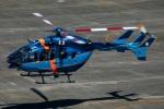 まんぼ しりうすさんが、名古屋飛行場で撮影した千葉県警察 BK117C-2の航空フォト(写真)
