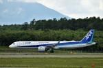 にしやんさんが、新千歳空港で撮影した全日空 A321-272Nの航空フォト(写真)