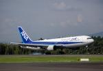 Tomo@RJFKさんが、鹿児島空港で撮影した全日空 767-381/ERの航空フォト(飛行機 写真・画像)