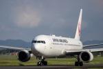 Tomo@RJFKさんが、鹿児島空港で撮影した日本航空 767-346/ERの航空フォト(飛行機 写真・画像)