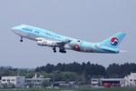 SKYLINEさんが、成田国際空港で撮影した大韓航空 747-4B5の航空フォト(写真)