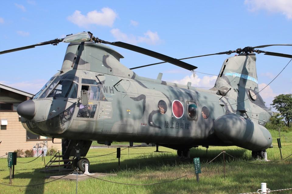 YASKYさんの陸上自衛隊 Kawasaki V-107 (51818) 航空フォト