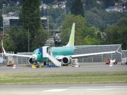 worldstarさんが、レントン市営空港で撮影したBOC Aviaton Limited 737-8-MAXの航空フォト(飛行機 写真・画像)