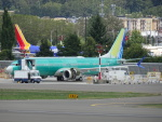 worldstar777さんが、レントン市営空港で撮影したユナイテッド航空 737-9-MAXの航空フォト(飛行機 写真・画像)