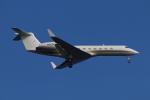 やつはしさんが、羽田空港で撮影したユタ銀行 G500/G550 (G-V)の航空フォト(飛行機 写真・画像)