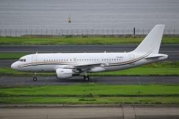 ryu330さんが、羽田空港で撮影したコムラックス・マルタ A319-115X CJの航空フォト(飛行機 写真・画像)
