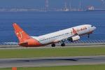 ちゃぽんさんが、中部国際空港で撮影したチェジュ航空 737-8BKの航空フォト(飛行機 写真・画像)