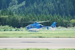 hikanagiさんが、大館能代空港で撮影した東北エアサービス EC135P2+の航空フォト(飛行機 写真・画像)